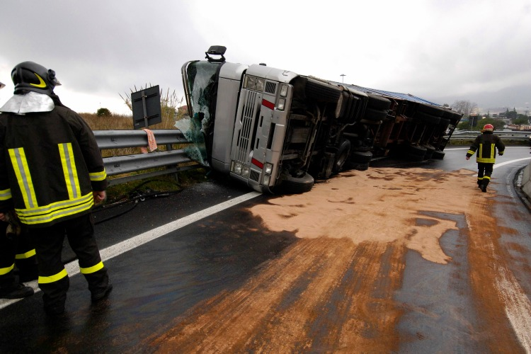 Semi Truck Crash | Semi Crash Lawyer Elliot Olsen John Dornik | Siegel Brill Injury Law