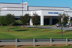 The TOYO Tires Thanksgiving dinner in suburban Atlanta might have served up Salmonella poisoning to its employees.