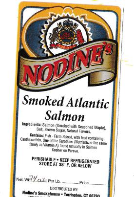 Listeria recalls: Nodine's Smokehouse smoked salmon