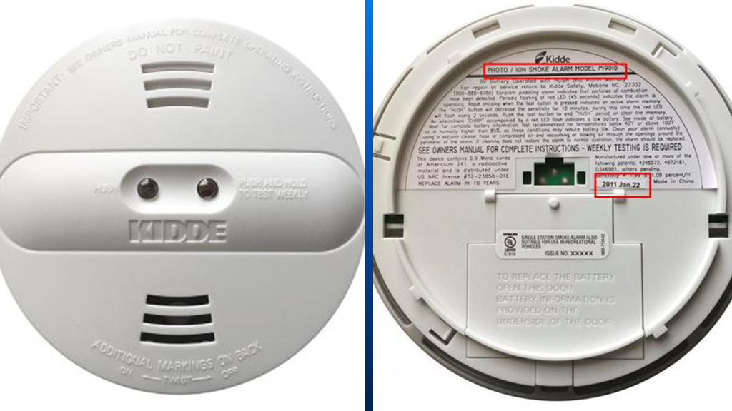 Kidde issues smoke detector recall