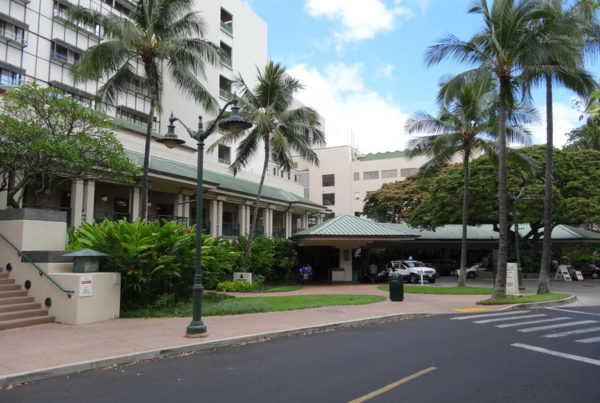 Queen's Medical Center Legionnaires' outbreak: 4 cases, 1 death