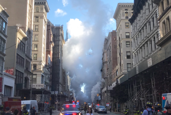 Asbestos fears after NYC steam-pipe explosion
