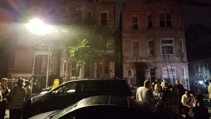 Fire kills 10 children asleep at slumber party