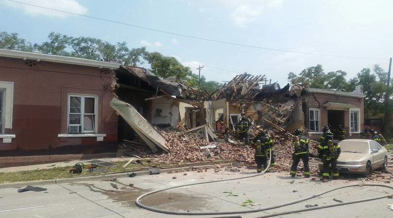 Denver gas explosion injures 9 south of downtown