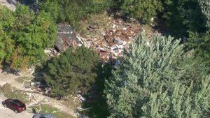 Harper Woods home explosion injures 3