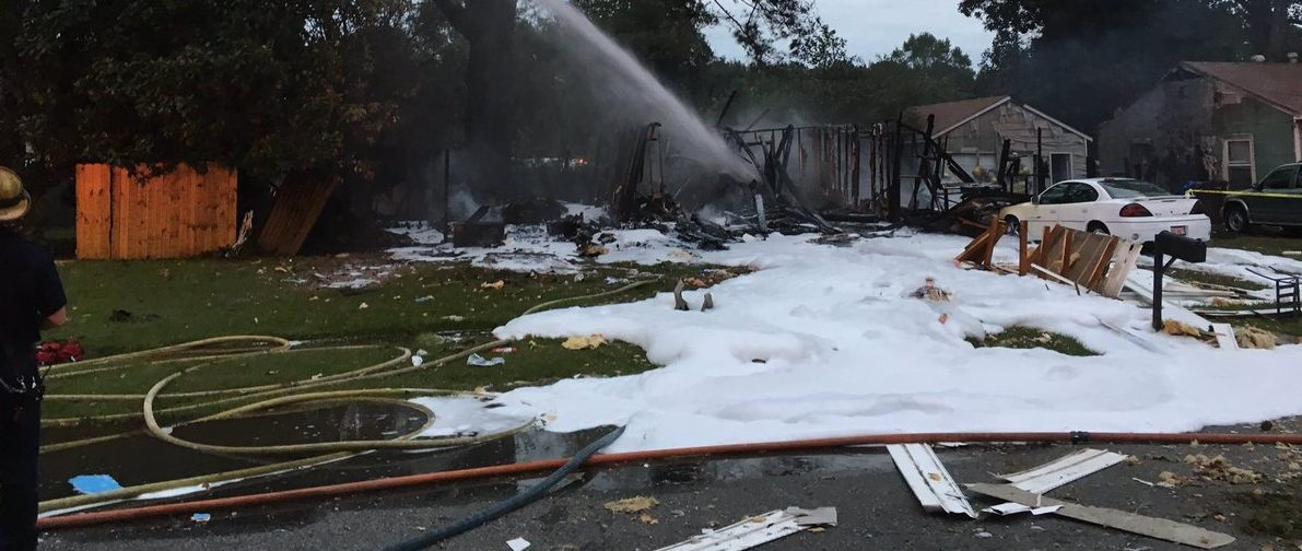 Chesapeake home explosion results in fatality