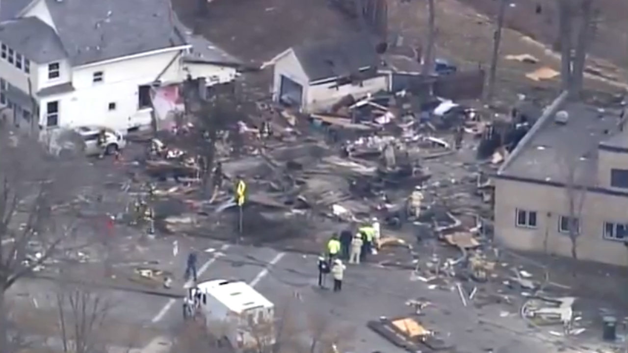 St. Paul home explosion injures at least 1