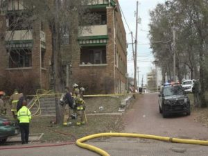 Topeka apartment fire: 1 dead, 1 injured