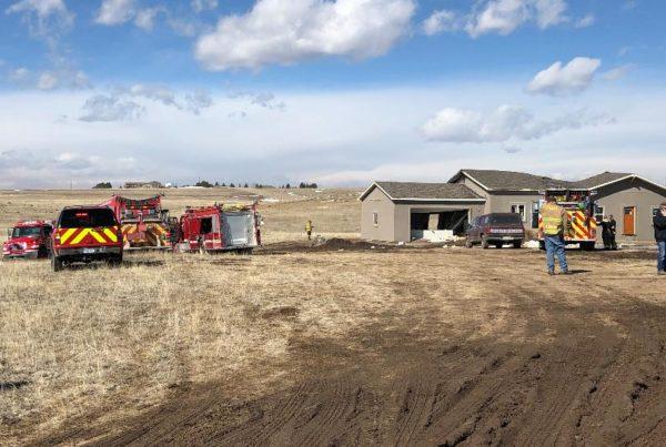 House under construction explodes near Calhan, Colorado; 2 injured