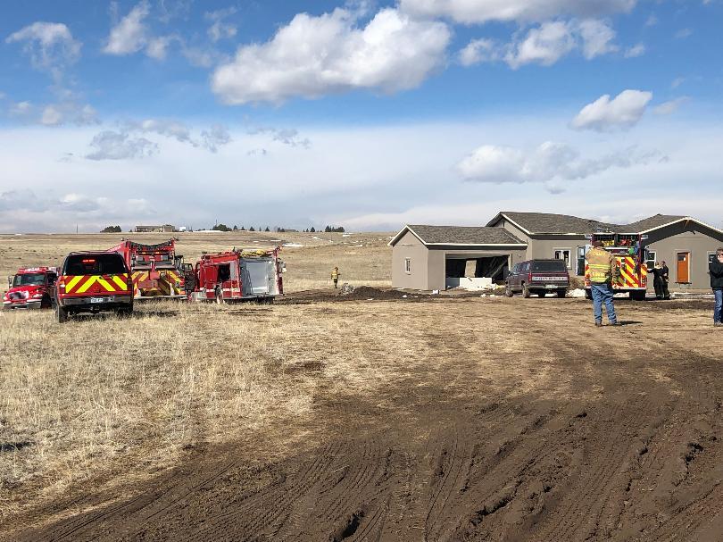 House under construction explodes near Calhan; 2 injured