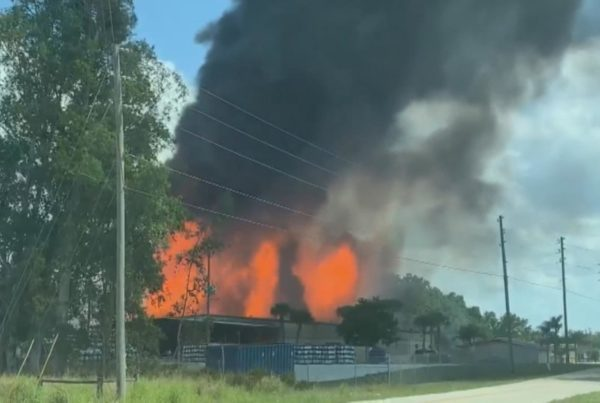 Burn injuries: Sebring propane fire sends one to hospital