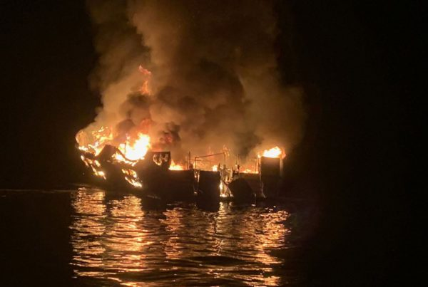 Santa Barbara boat fire claims 34 lives; search for bodies is ended