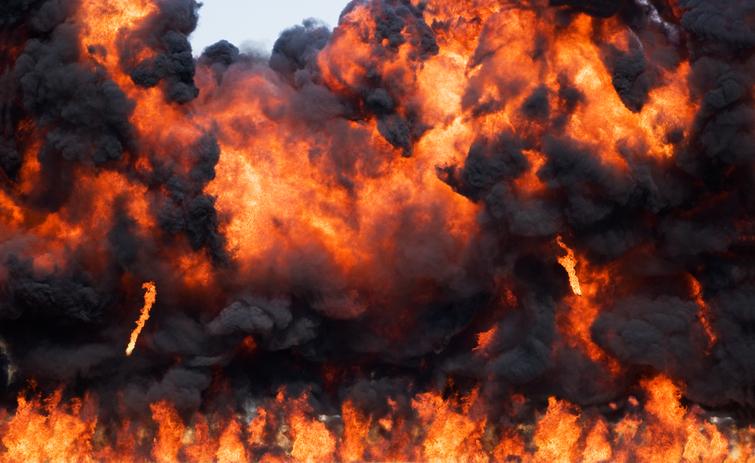 Denton truck explosion kills 3 on Highway 35 in Texas