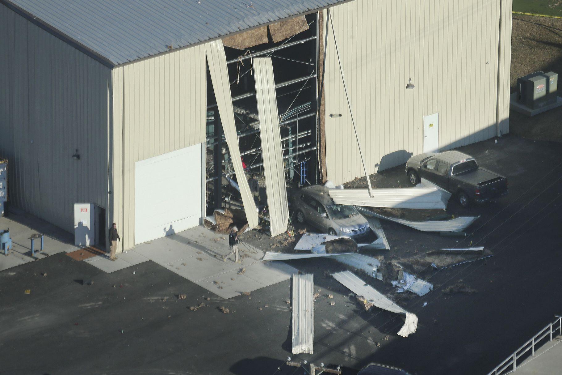 Brigham City warehouse explosion kills man