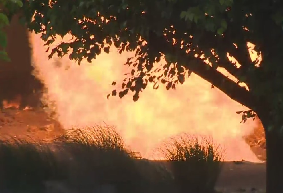 Pikesville gas explosion injures three